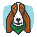 avatars, bassett, dog, hound