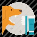 dog, care, teeth, brushing, paste, cleaning, dental