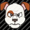 emoticon, smiley, dog, face, cartoon, emoji