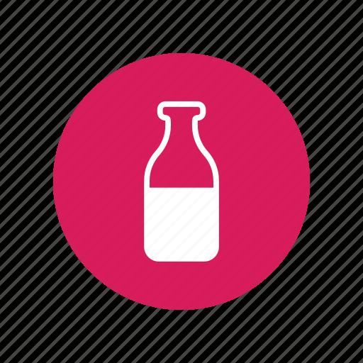 animal, bottle, dog, drink, milk, thirsty, water icon