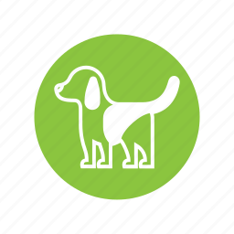animal, character, cute, dog, pet, puppy, stand icon