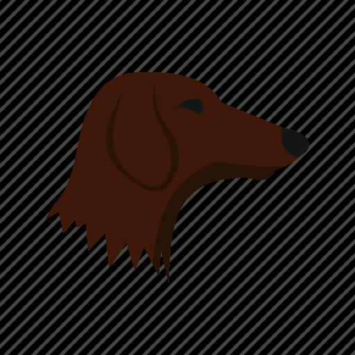 animal, concept, dachshund, dog, graphic, pet, puppy icon
