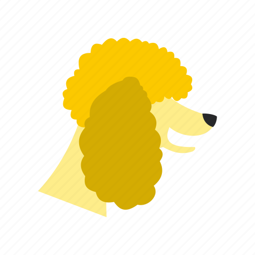 animal, concept, dog, graphic, pet, poodle, puppy icon