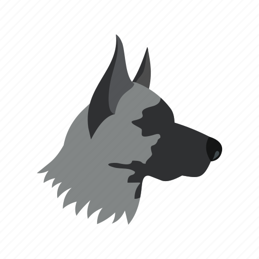 animal, concept, dog, graphic, pet, puppy, shepherd icon