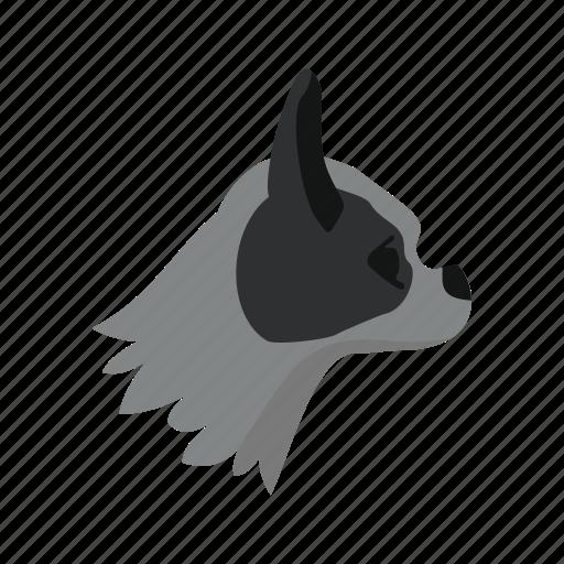 animal, concept, dog, graphic, pet, pug, puppy icon