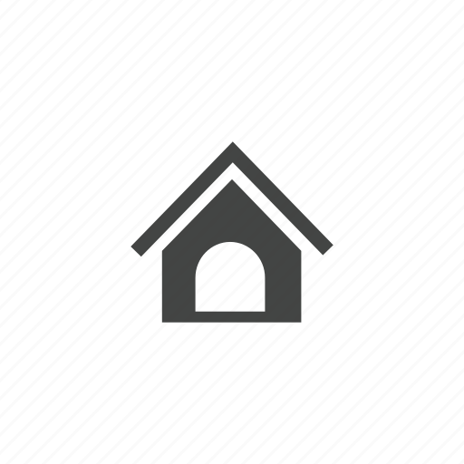 dog, dog house, home, house, pet icon