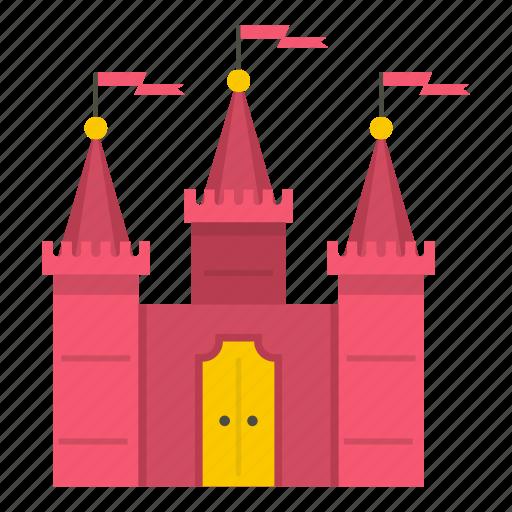ages, ancient, antique, architecture, building, castle, chateau icon