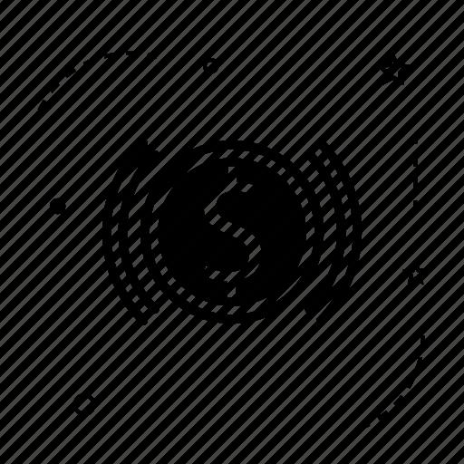 bank, coin, dollar, money, signal icon
