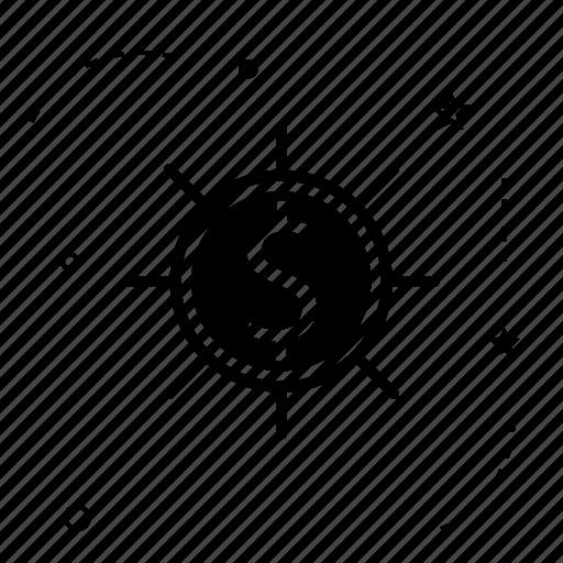 bank, coin, control, dollar, money icon