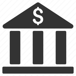 bank building, banking, business, corporation, finance, financial center, museum icon