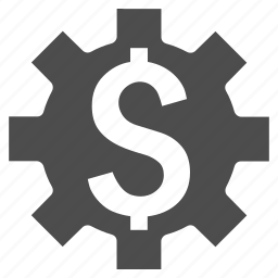dollar, industry, money, options, service, settings, tools icon