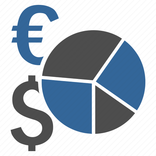business, finance, financial, graph, pie chart, report, statistics icon