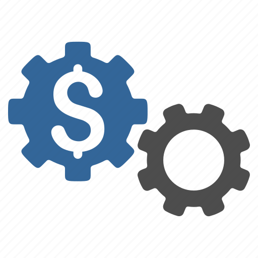 application tools, bank options, banking, finance, financial gears, industry, money icon