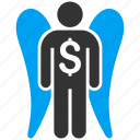 angel investor, finance, fund, invest, investment, money, venture capital
