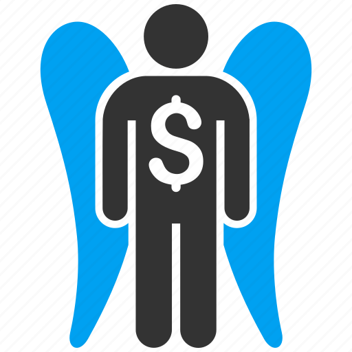 angel investor, finance, fund, invest, investment, money, venture capital icon