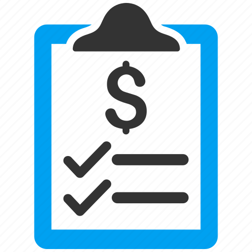 bill, certificate, invoice, order, pad, payment, receipt icon