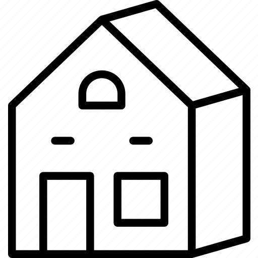 building, home, house, residence icon