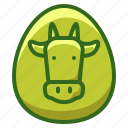 agriculture, animal, cow, farming, livestock icon