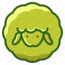 agriculture, animal, farming, sheep, wool icon