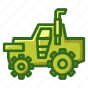 agriculture, agrimotor, farming, tractor, wheels icon
