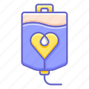 charity, donation, health, heart, love, ringer icon
