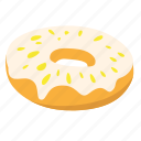 donut, snack, sugar, sweet icon