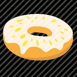 donut, snack, sugar, sweet icon