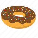 donut, sprinkle icon