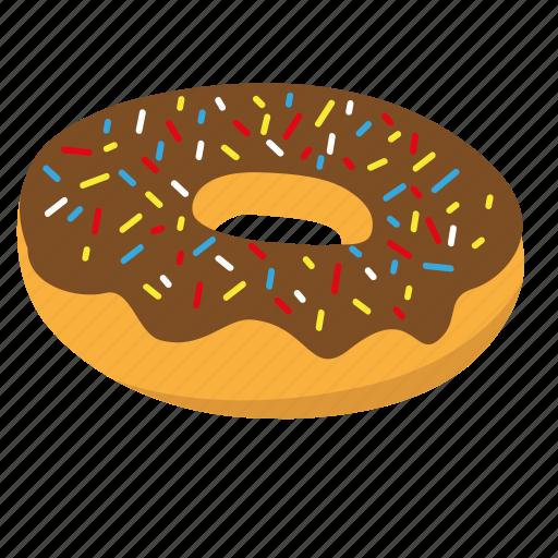 donut, sprinkle icon