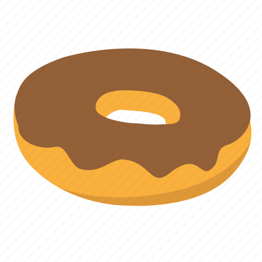 chocolate, donut, snack, sweet icon