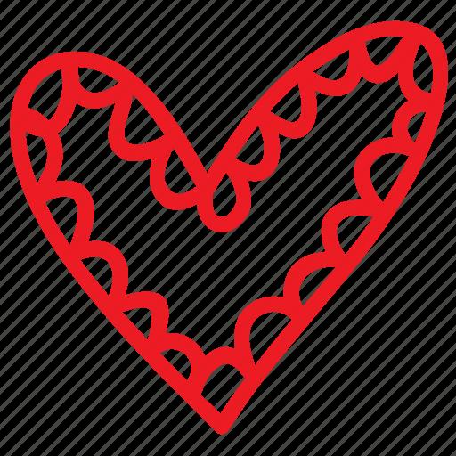 cartoon, doodle, hand drawn, heart, love, sketch, valentines icon