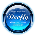 christmas, dooffy design icon