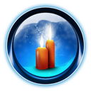 0008, candles, christmas, dooffy, ikony icon