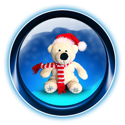bear, christmas icon