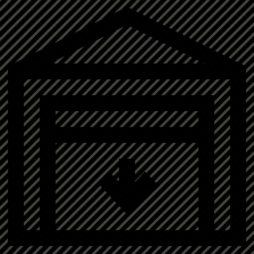 door, doorway, entrance, home, interior, office, room icon