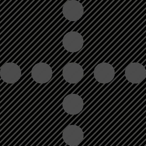 add, arrow, plus, pointer icon