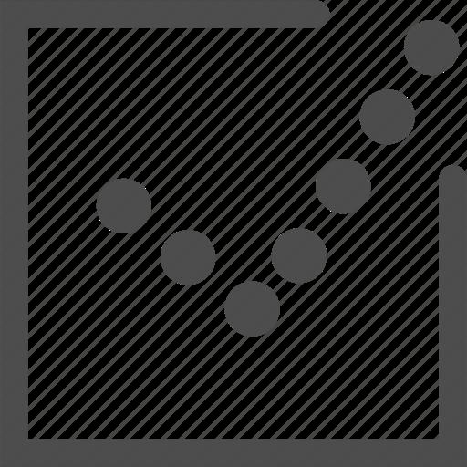 arrow, check, mark, pointer, vote icon