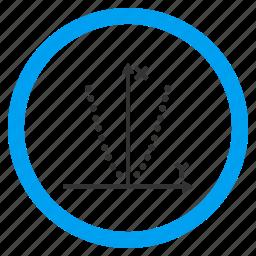 chart, draft, draw, function, graph, parabole, parabolic icon
