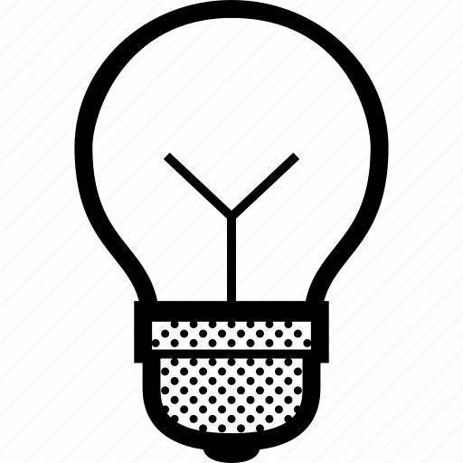 bulb, idea, light, lightbulb, luminaire icon