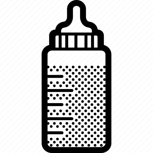 baby, bottle, feeding, milk icon
