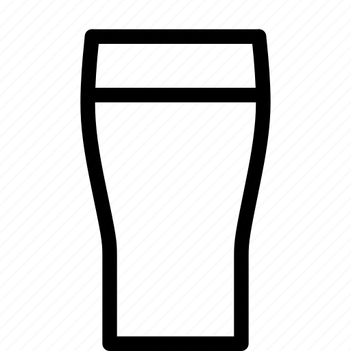 beer, beverage, cup, drink, glass icon