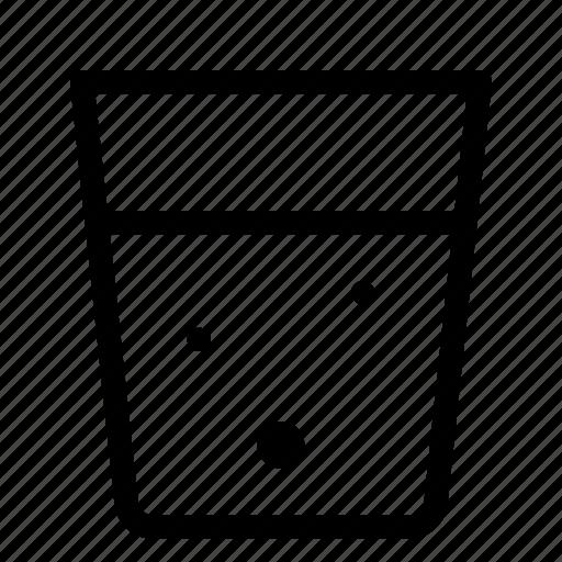 beverage, drink, glass, juice, liquor, water icon