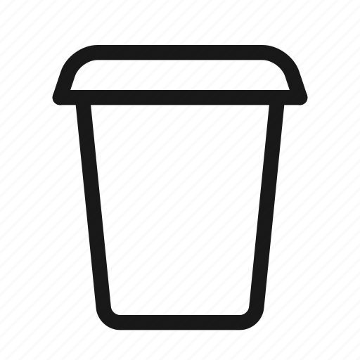 cup, disposable, drink, juice, paper, smoothie, water icon