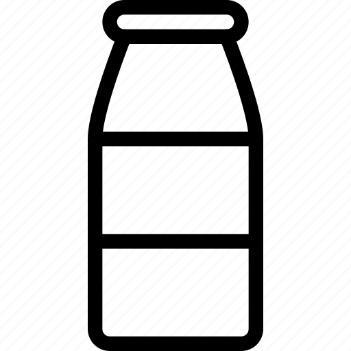 bottle, drink, juice, liquid, milk, water icon