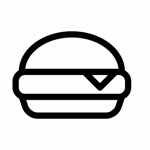burger, eat, fast, food, hamburger icon