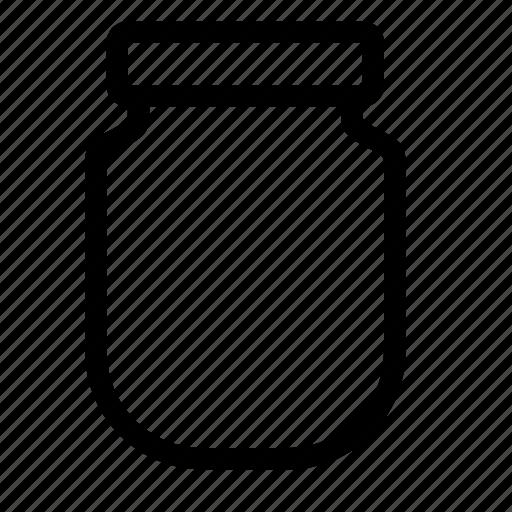 cook, food, jar, kitchen, utensil icon