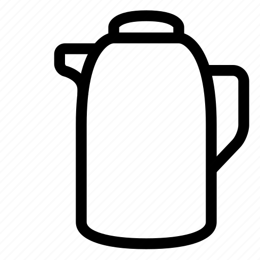 drink, kettle, kitchen, pot, water icon