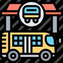 bus, public, transportation, travel, vehicle