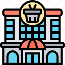 department, store, shopping, mall, grocery icon