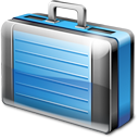 bag, briefcase, business, career, case, job, suitcase, travel, work icon